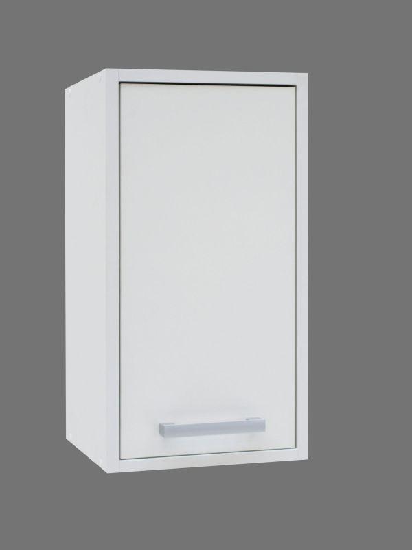 Hängeschrank Cerri 02, Farbe: Weiß - 57 x 30 x 30 cm (H x B x T)