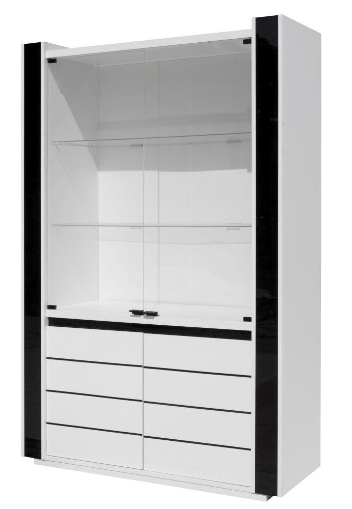 Vitrine Livadia 08 - Abmessungen: 185 x 120 x 45 cm (H x B x T)