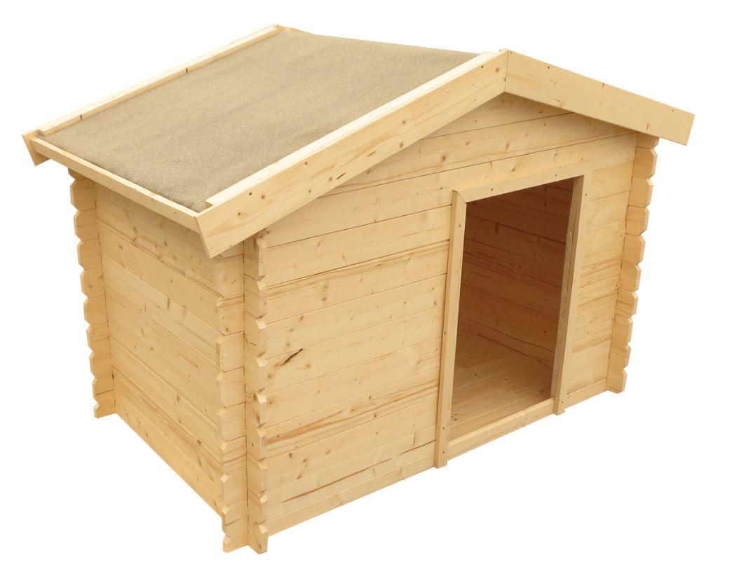 Hundehütte Molly 3 inkl. Fußboden - Maße: 150 x 90 cm (L x B)