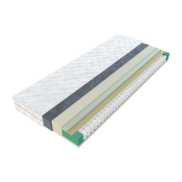 Matratze Tibiri 04 mit Taschen Federkern - Liegefläche: 90 x 200 cm
