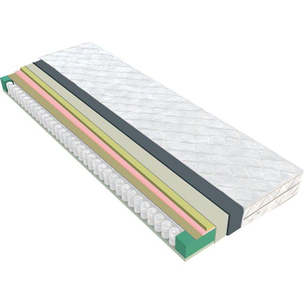 Matratze Maradi 05 mit Taschen Federkern - Liegefläche: 180 x 200 cm