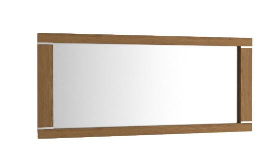 """Spiegel """"Berovo"""" Eiche rustikal 26 - Abmessungen: 130 x 55 cm (B x H)"""
