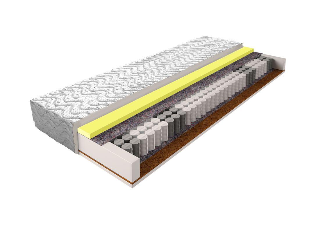Matratze mit Taschenfederkern 030 - Größe: 120 x 200 cm, Höhe: 17 cm