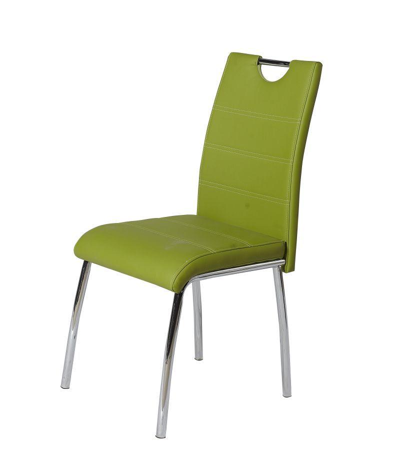 Stuhl Maridi 44, Farbe: Grün - Abmessungen: 95 x 42 x 42 cm (H x B x T)