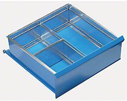 Schubladeneinteilungs- Set 3 Fächer für Schubladenhöhe 200 mm