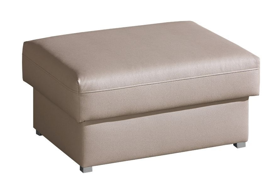 Hocker Sladenia 01 in beige - 85 x 65 cm (B x T)
