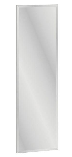Spiegel Knoxville 26, Farbe: Kiefer Weiß - Abmessungen: 136 x 40 x 2 cm (H x B x T)