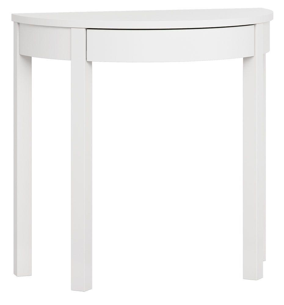 Schminktisch, Farbe: Weiß - Abmessungen: 80 x 43 x 78 cm (B x T x H)