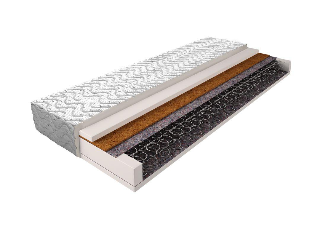 Matratze mit Bonellfederkern 015 - Größe: 90 x 200 cm, Höhe: 17 cm