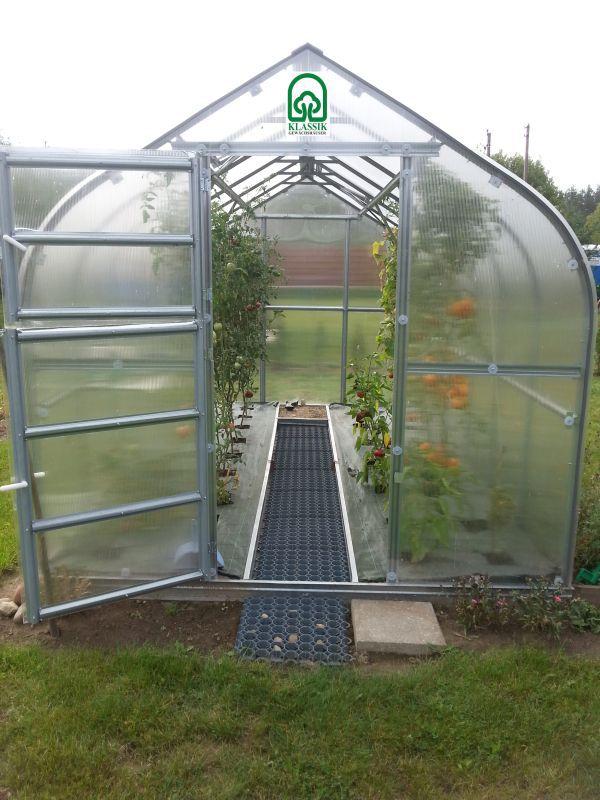 Gewächshaus 09 HKP 4 mm, Grundfläche 20 m²- Abmessungen: 800 x 250 cm (L x B)