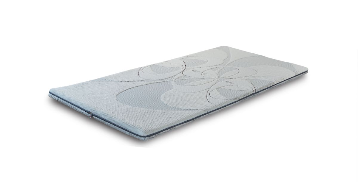 Matratzenschoner Memory, Material: Memory Schaum S, Maße: 120 x 200 cm (B x T)