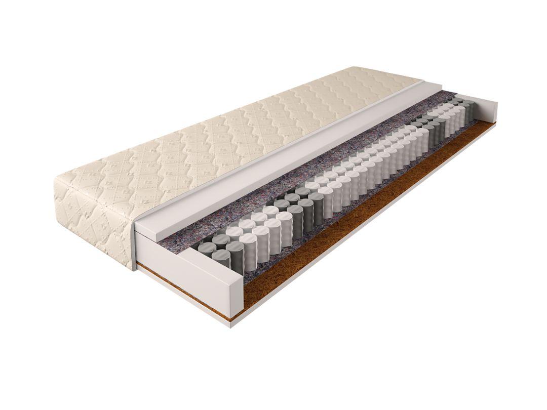 Matratze mit Taschenfederkern 024 - Größe: 120 x 200 cm, Höhe: 17 cm