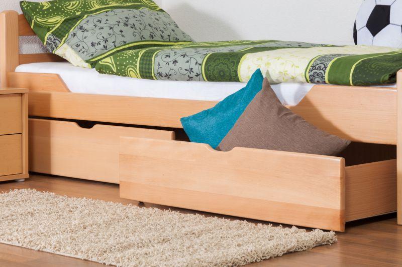 Bett mit Bettkasten 90x200