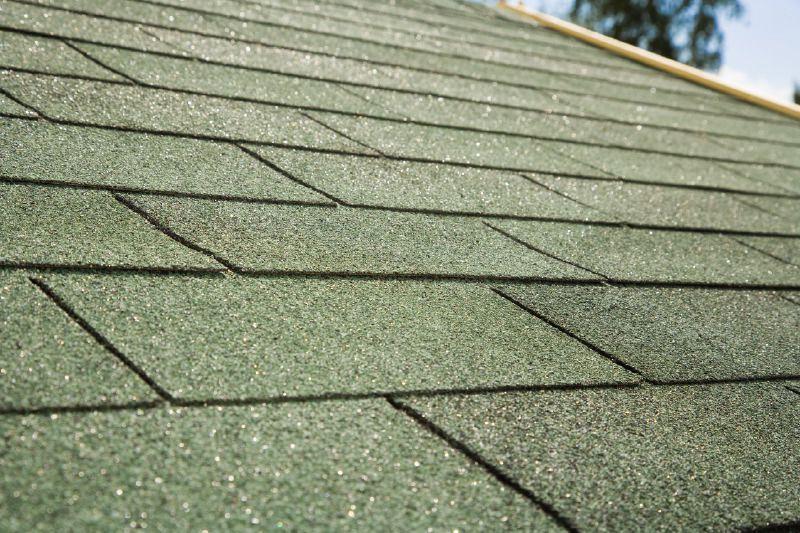 Dachschindeln rechteckig - Farbe: Grün