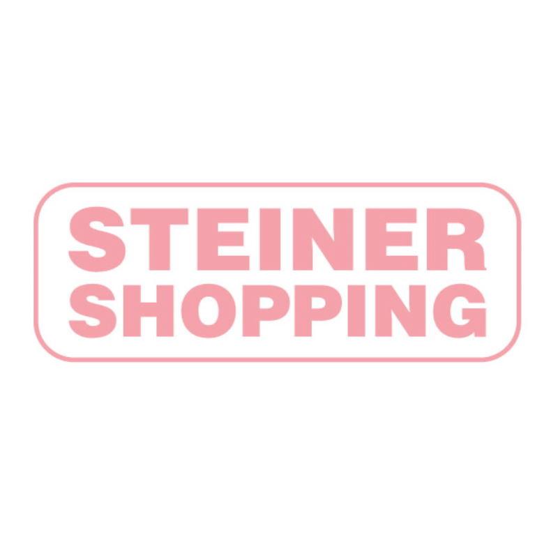 Esstisch Kiefer Vollholz massiv weiß / grau Lagopus 13 - Abmessungen: 80 x 60 cm (B x T)