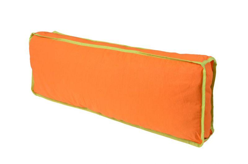 Seitenkissen - Farbe:Grün/Orange