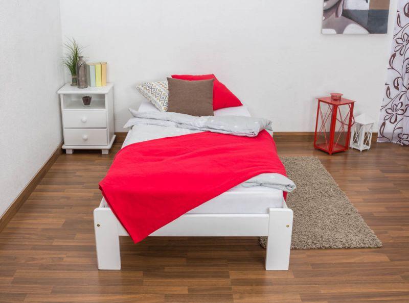 Bett weiß 90x200