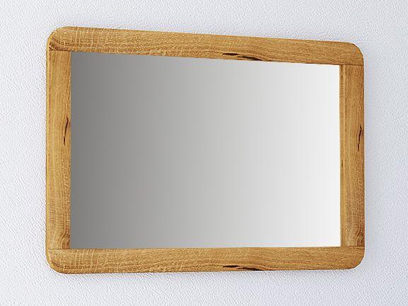 Spiegel Otago 30 Wildeiche massiv geölt - Abmessungen: 60 x 90 x 2 cm (H x B x T)