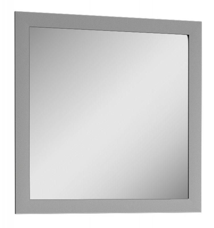 Spiegel Segnas 04, Farbe: Grau - 82 x 82 x 2 cm (H x B x T)