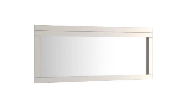 """Spiegel """"Uricani"""" Weiß 29 - Abmessungen: 180 x 55 cm (B x H)"""