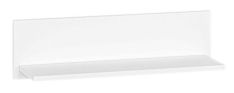 Hängeregal / Wandregal Tornved 06, Farbe: Weiß - Abmessungen: 20 x 71 x 21 cm (H x B x T)