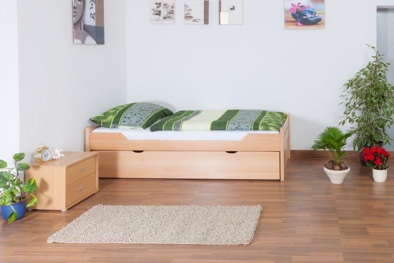 Bett mit Unterbett