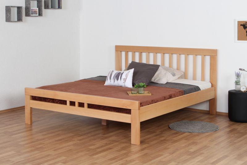 "Doppelbett ""Easy Premium Line"" K8/1, 180 x 200 cm Buche Vollholz massiv Natur"