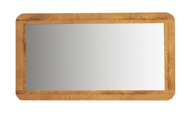 Spiegel Timaru 20 Wildeiche massiv geölt - Abmessungen: 60 x 110 x 2 cm (H x B x T)