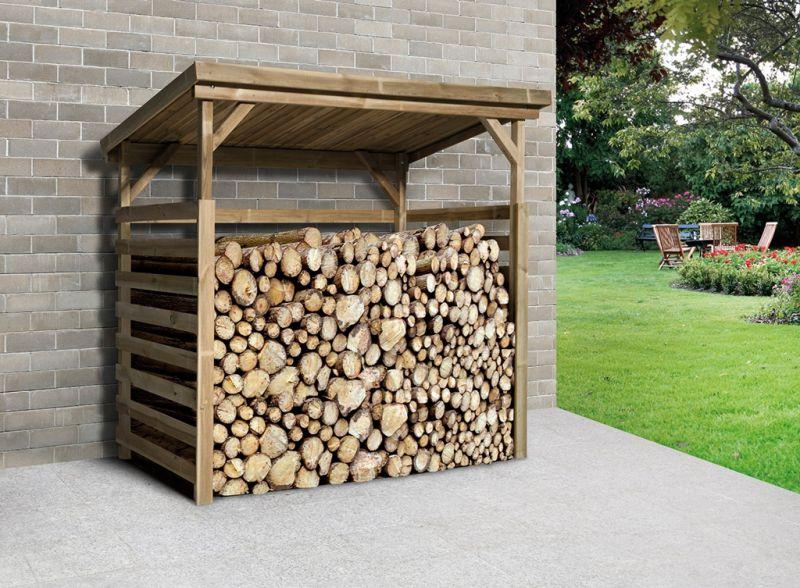 Lagerraum Brennholzlager - Unterstellplatz 663 B