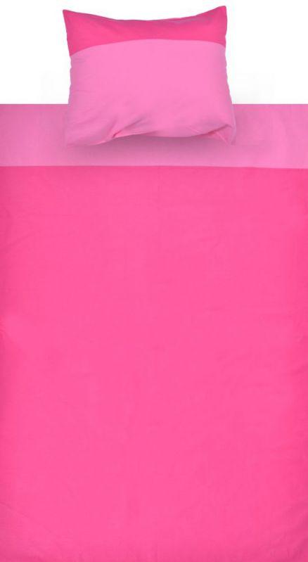 Kinder - Bettwäsche 2-teilig - Farbe:Pink/Rosa