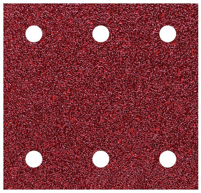 Wolfcraft Haft-Schleifstreifen Korund 100 x 115 mm, gelocht