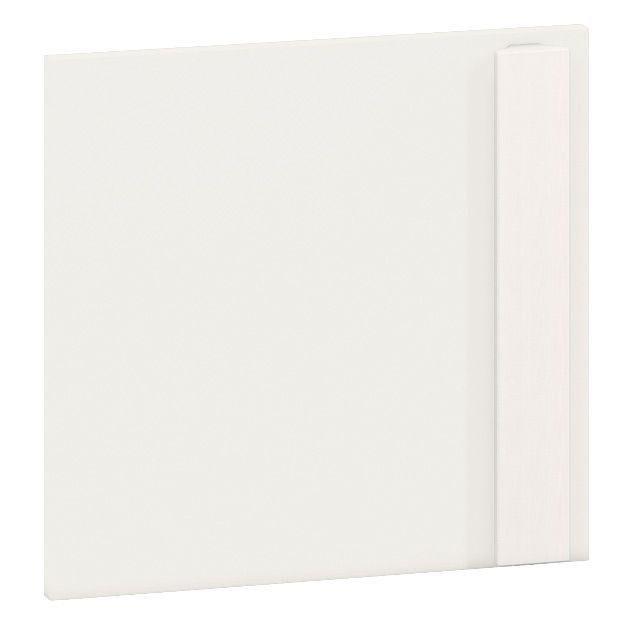 Front für Jugendzimmer - Regal Greeley 06, Farbe: Weiß - Abmessungen: 35 x 37 x 2 cm (H x B x T)