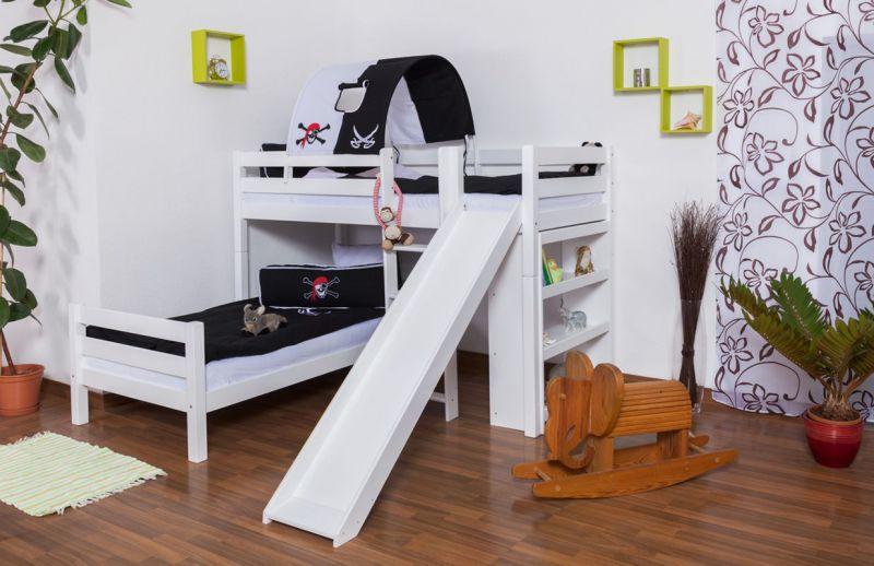 Kinderbett mit Rutsche