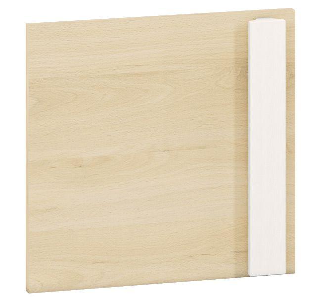 Front für Jugendzimmer - Regal Greeley 06, Farbe: Buche - Abmessungen: 35 x 37 x 2 cm (H x B x T)