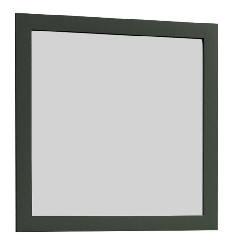 Spiegel Segnas 04, Farbe: Grün - 82 x 82 x 2 cm (H x B x T)