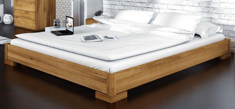 Doppelbett Kapiti 10 Wildeiche massiv geölt - Liegefläche: 200 x 200 cm (B x L)
