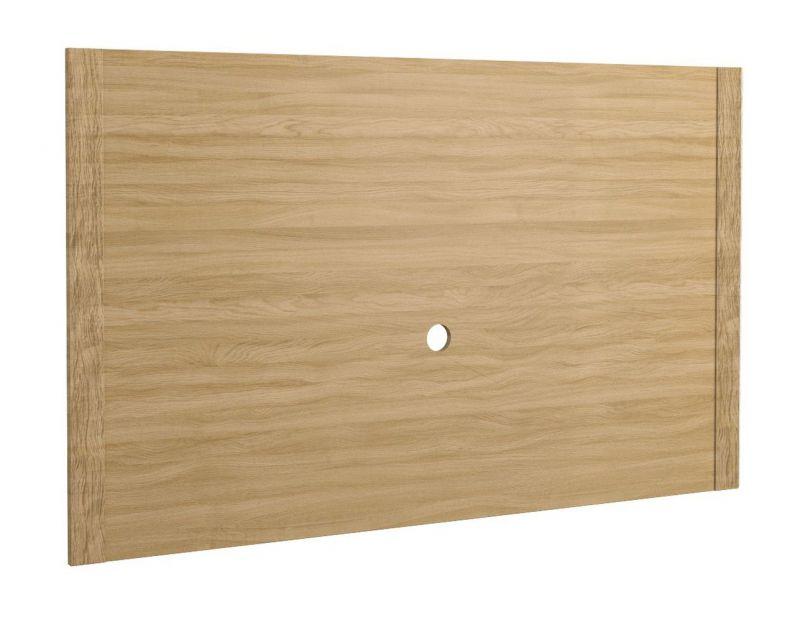 Rückwandpaneel Kastav 20, Farbe: Eiche - 100 x 164 x 4 cm (H x B x T)
