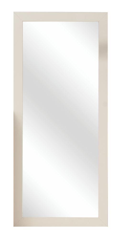 Spiegel Baeza 04, Farbe: Creme - 113 x 50 x 2 cm (H x B x T)