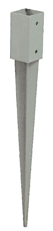 Pfostenschuh, verzinkt - Maße: 9 x 9 cm