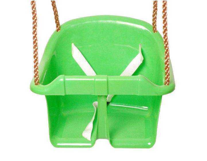 Babyschaukel 01 inkl. Seil - Farbe: Hellgrün