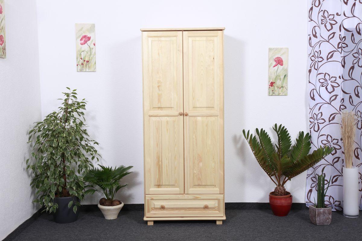 Kleiderschrank 80 cm breit Holz