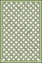 Rankgitter für Pavillon Vitalba - Abmessung: 120 x 180 cm (B x H)