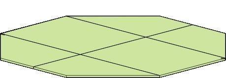 Fußboden für Pavillon Vitalba - Ø 350 cm