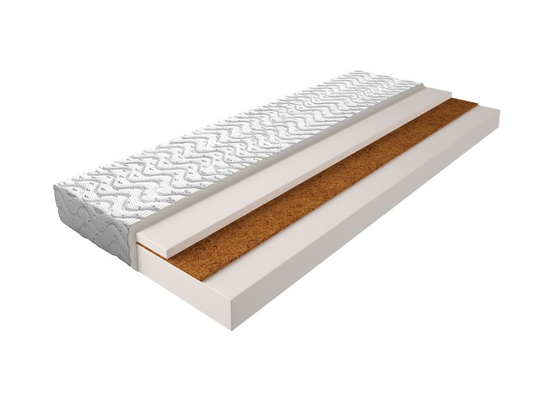 Matratze mit Schaumstoffkern 003 - Größe: 140x200 cm, Höhe: 14cm