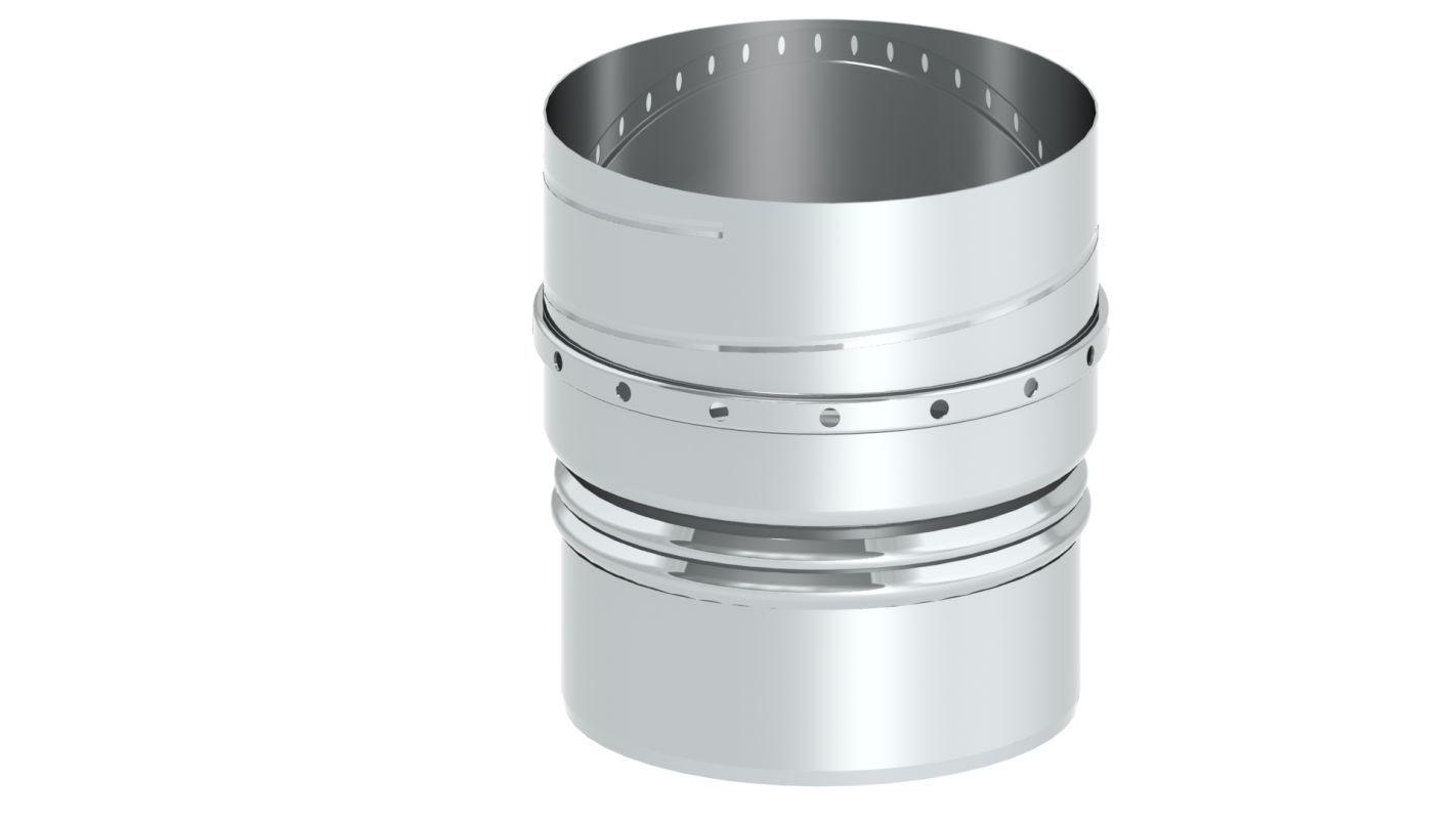 Einwandiger FLEX Übergang starr auf flexibel - Durchmesser: 150 mm
