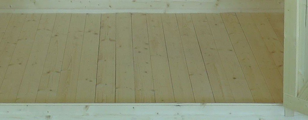 Fußboden für das Gartenhaus Sommerruhe 2