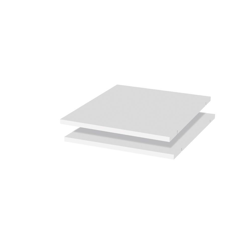 Fachboden für Schrank Siumu, 2er Set, Farbe: Beige - 43 x 50 cm (B x T)
