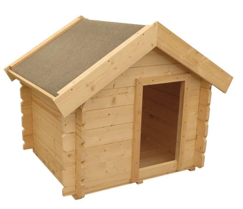 Hundehütte Molly 1 inkl. Fußboden - Maße: 83 x 73 cm (L x B)