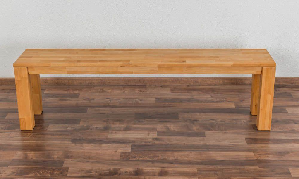 Bank Wooden Nature 132 Kernbuche massiv - 160 x 33 cm (L x B)
