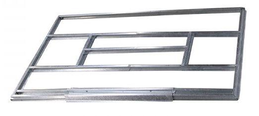 Unterkonstruktion für Metallgerätehäuser, Modell Kompakt 2